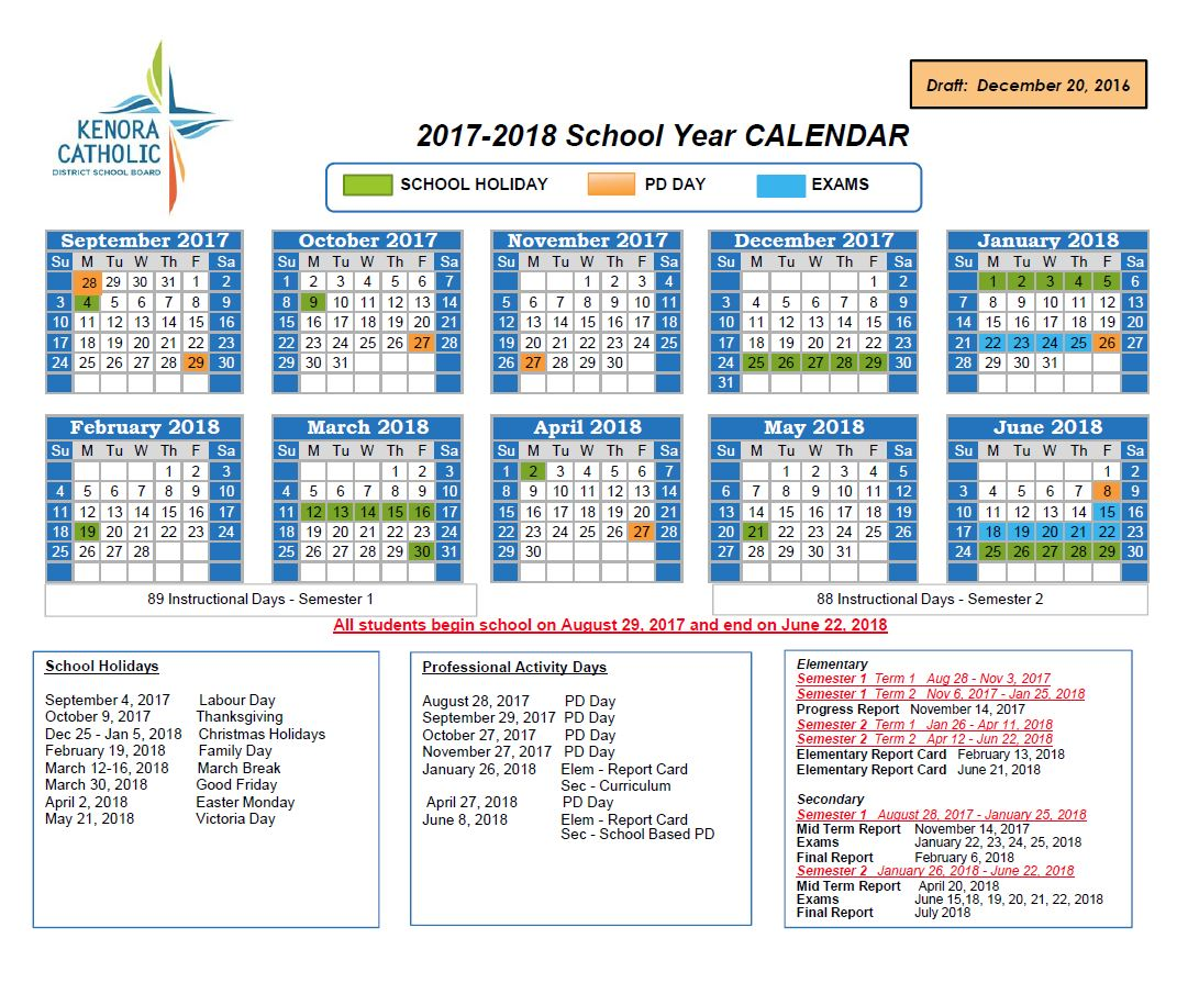 2018 calendar catholic