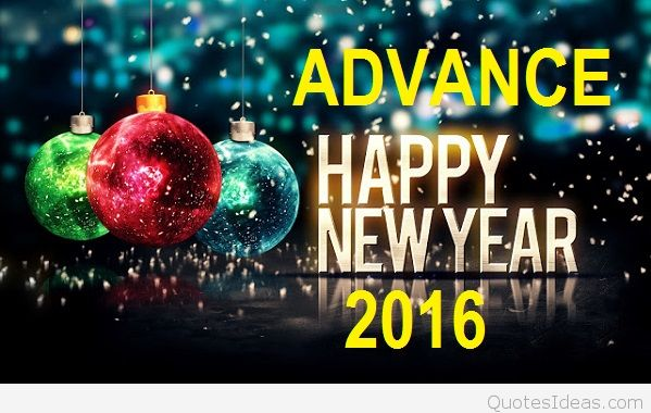 advance new year messages