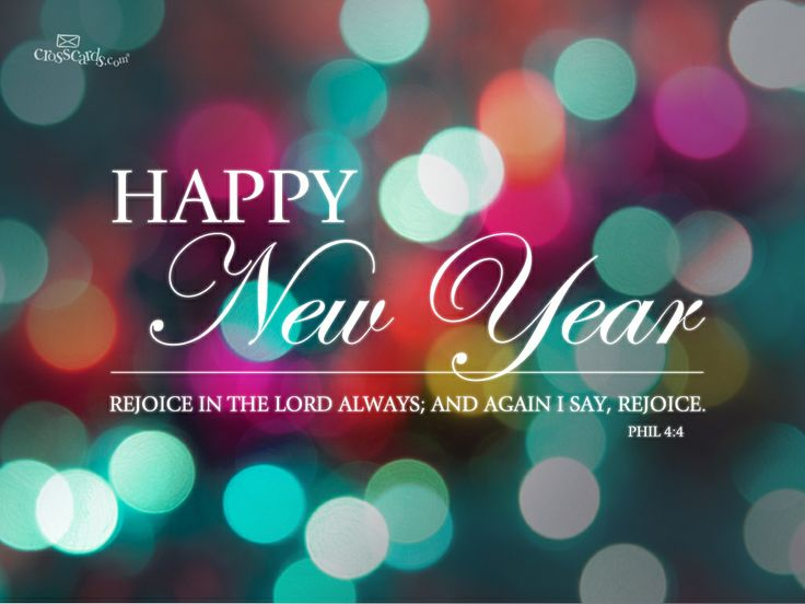 bible new year messages