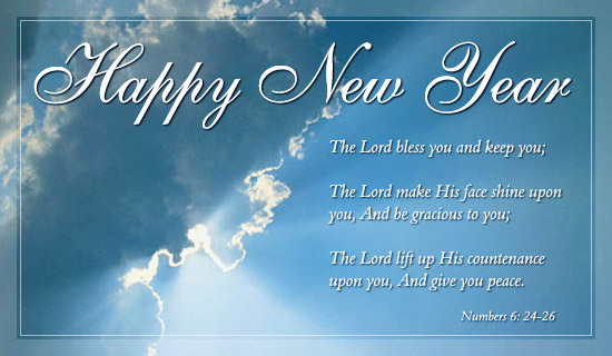 bible verse happy new year