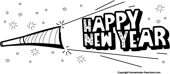 blower new year clip art