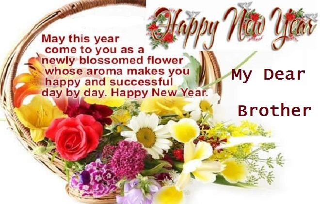 brother new year cards