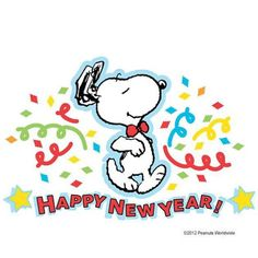 charlie brown new year clip art