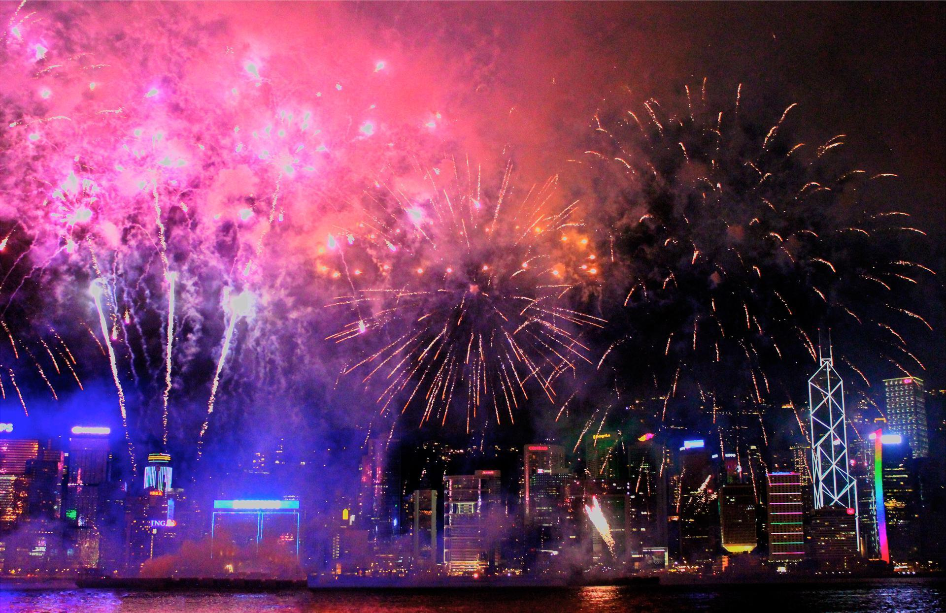 city new year backgrounds