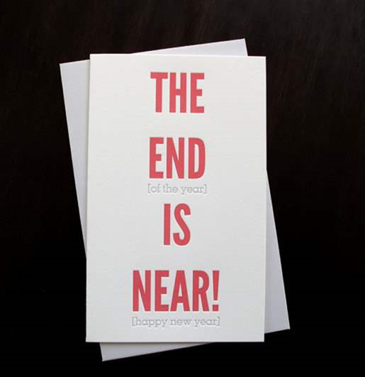 clever new year cards