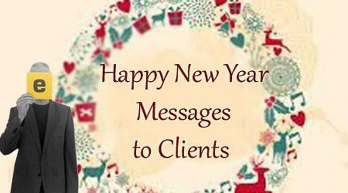 client new year messages