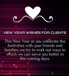 client new year saying