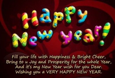colleague new year greetings