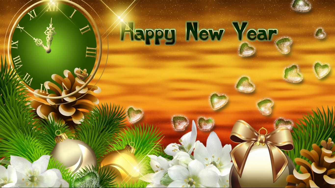 computer new year backgrounds