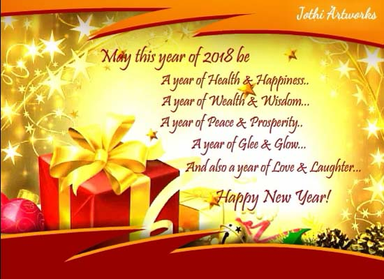 congratulation new year cards