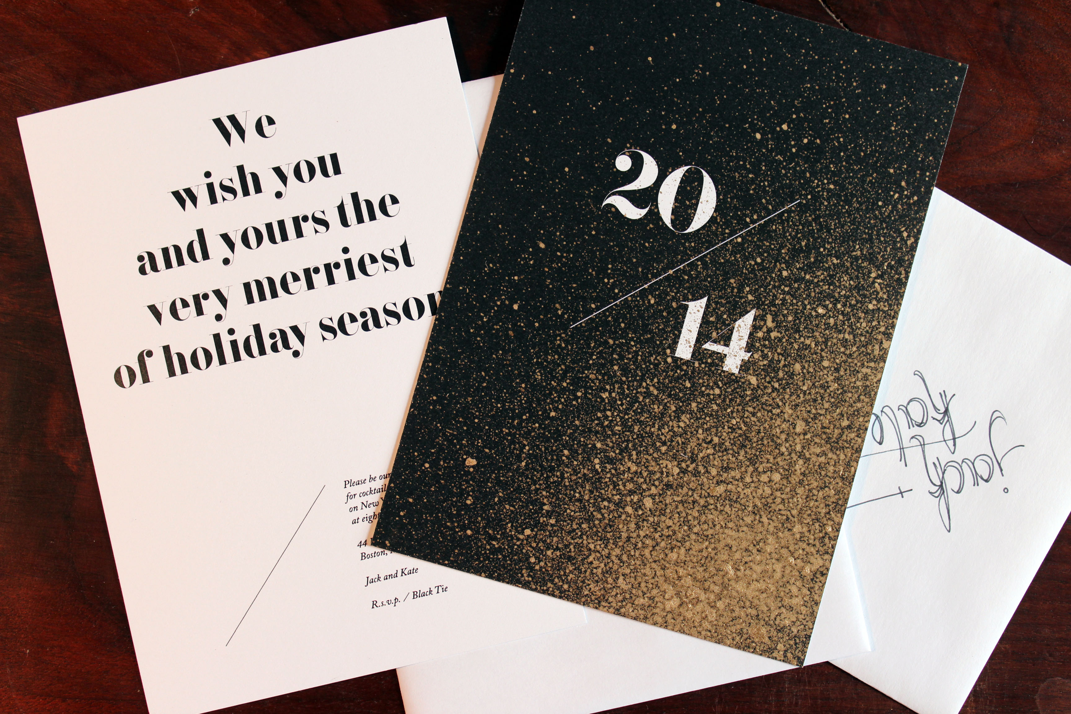 creative new year cards