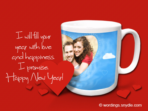 girlfriend new year messages