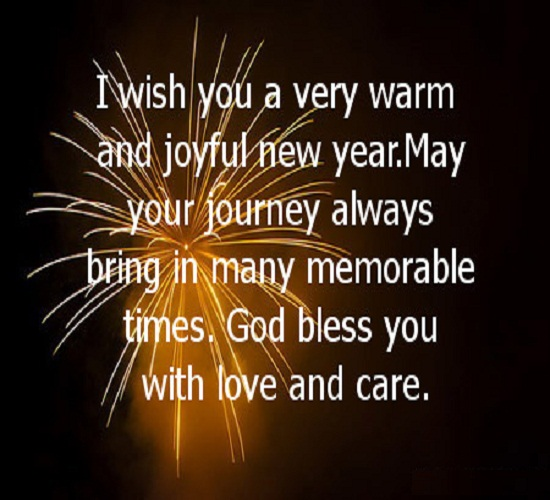 happy news new year messages