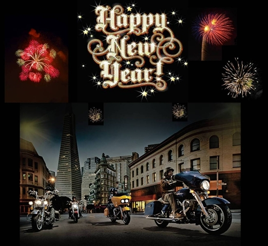 harley davidson happy new year