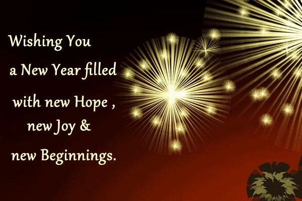 hindi language new year messages