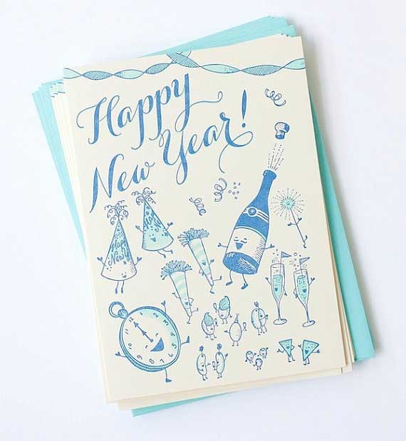 innovative new year cards