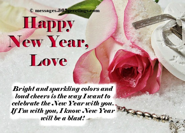 love one new year messages