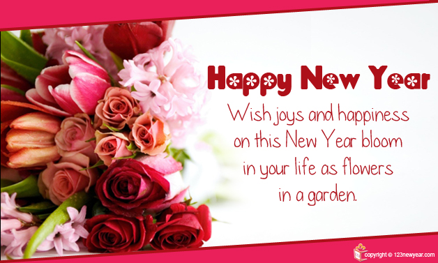 message happy new year