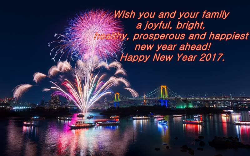 message new year greetings
