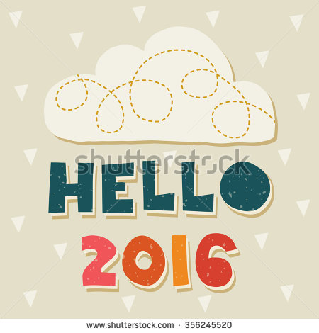 navy blue new year poster