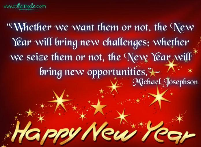 news year new year saying