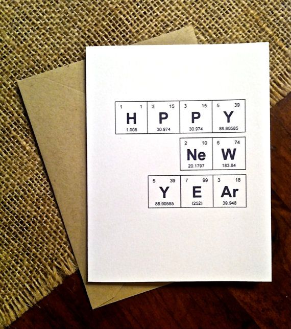 original new year cards