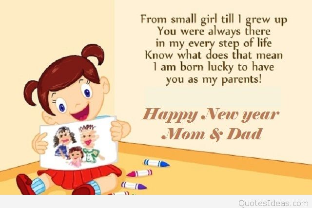 parent new year saying