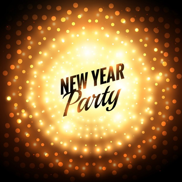 party new year cards