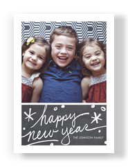personalized new year cards