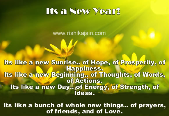 positive new year messages