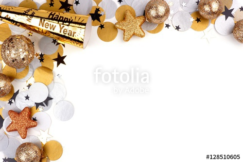 poster new year border
