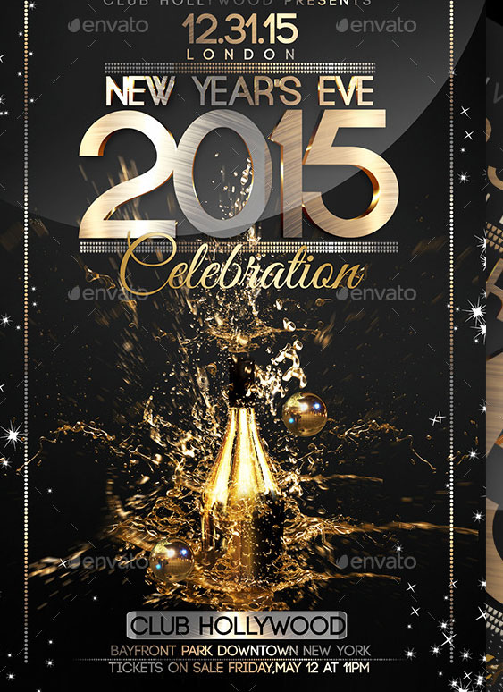 psd new year poster