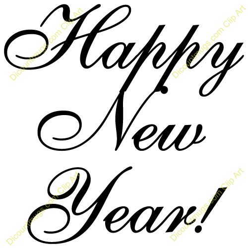 religious new year clip art