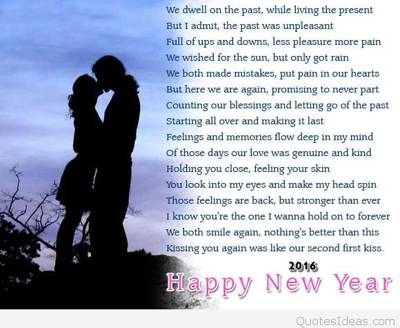 romantic new year messages