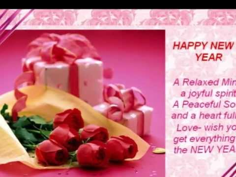rose new year cards