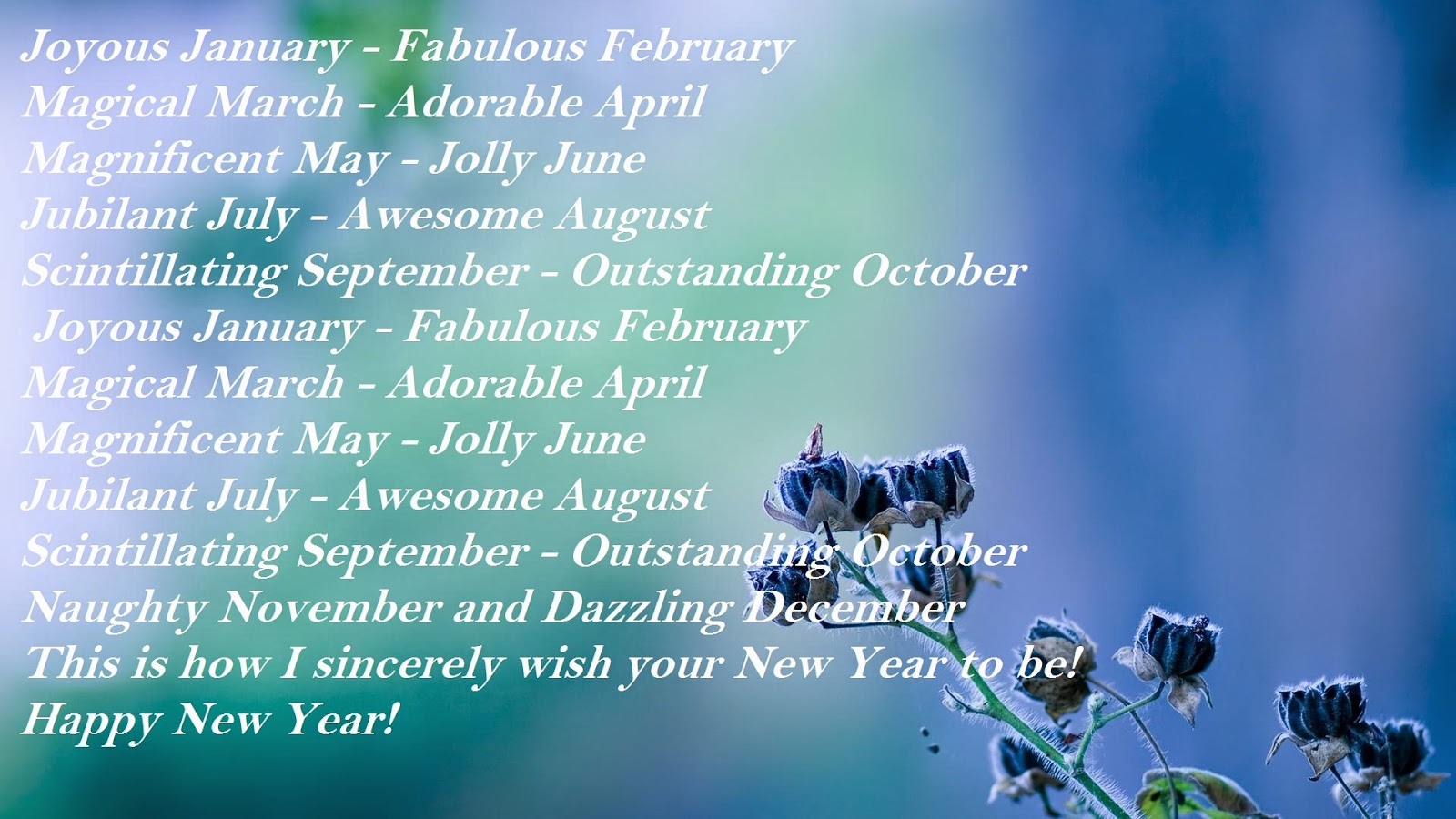 september new year messages