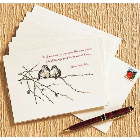 simple new year cards