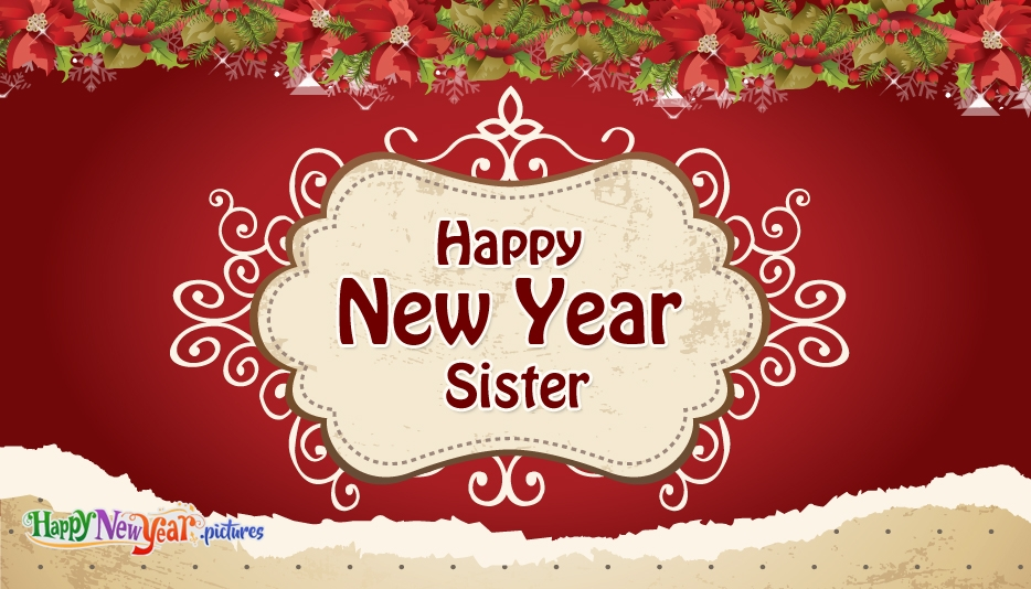 sister happy new year