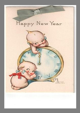 sister new year cards