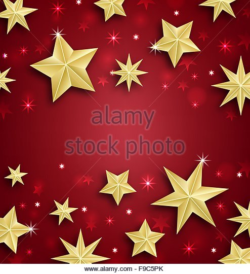 starry new year border