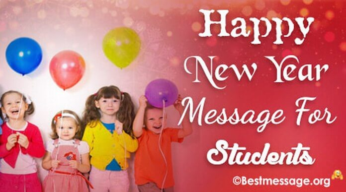 student new year messages