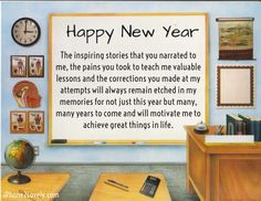 teacher new year saying