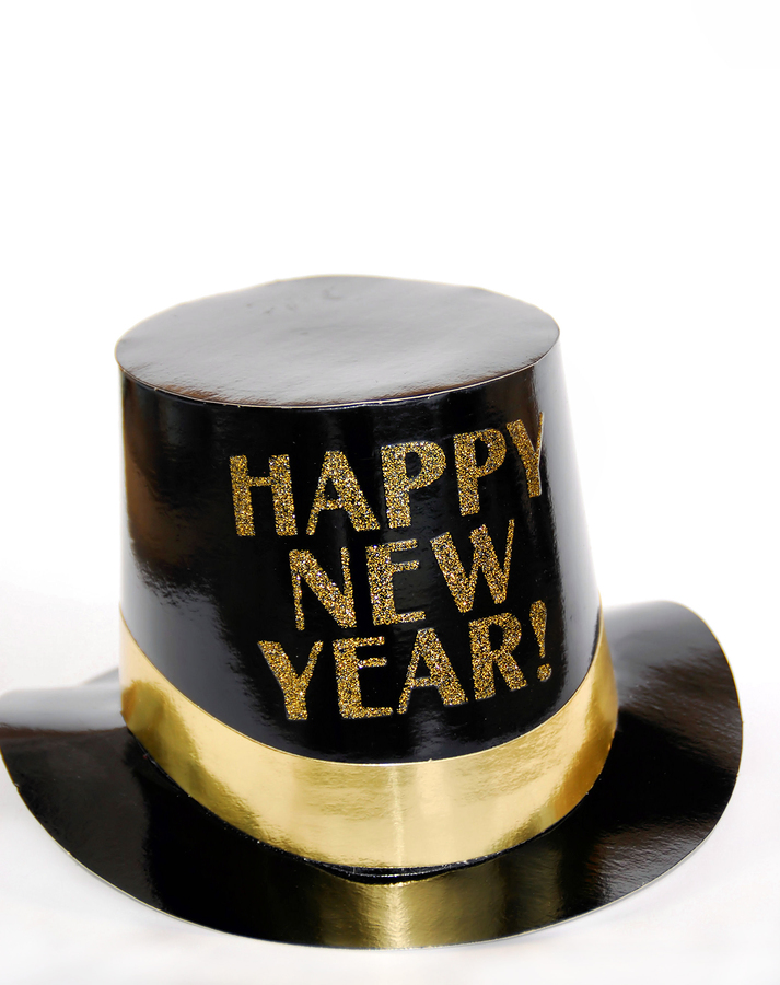 top hat new year clip art