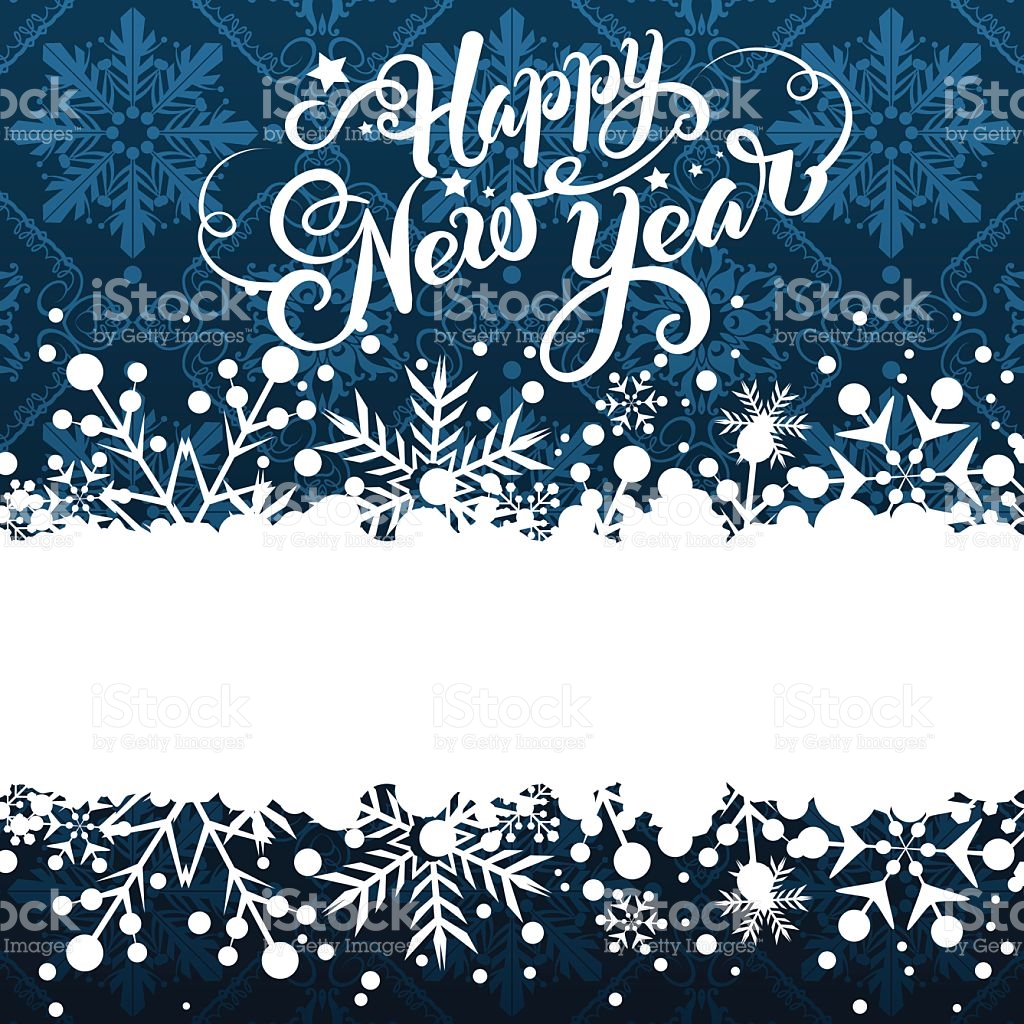 vector new year border