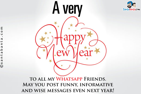 wise new year messages