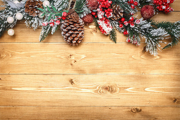 wooden new year backgrounds