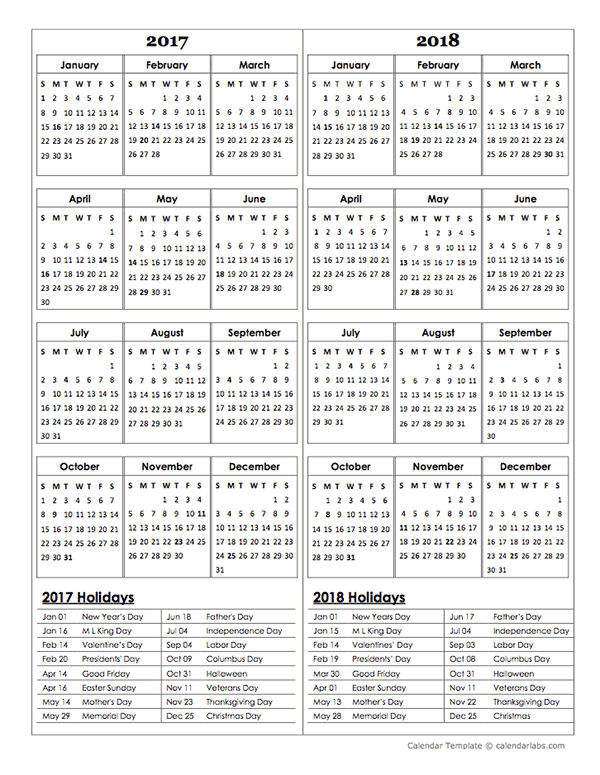2018 calendar religious holiday