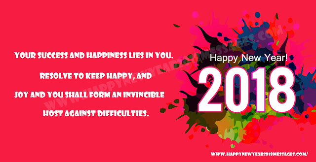 2018new new year messages
