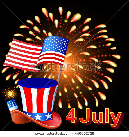 american independence day new year clip art