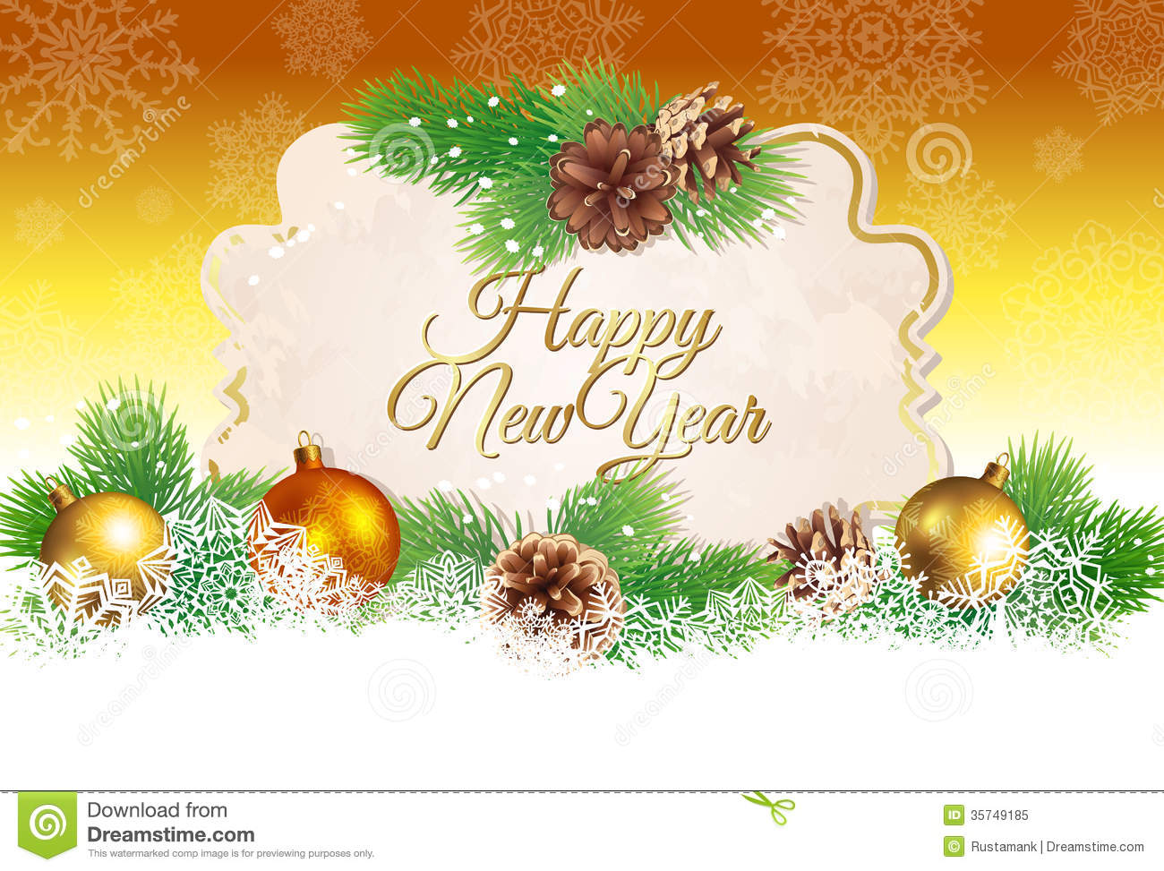 background new year greetings